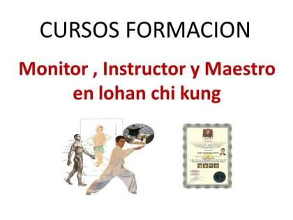 Formacion monitor instructor chi kung