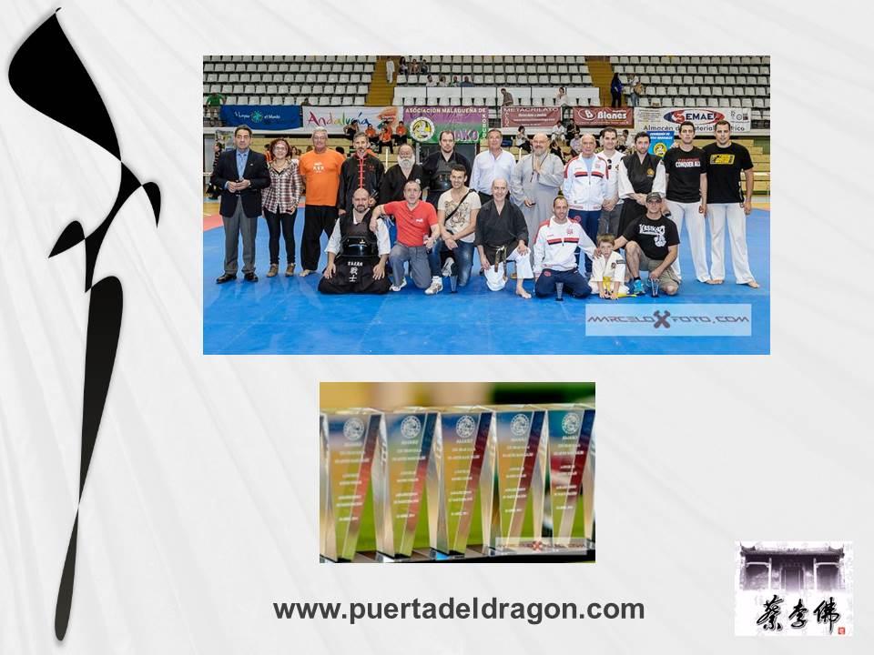 Entrega de Trofeos Gala Artes Marciales Malaga
