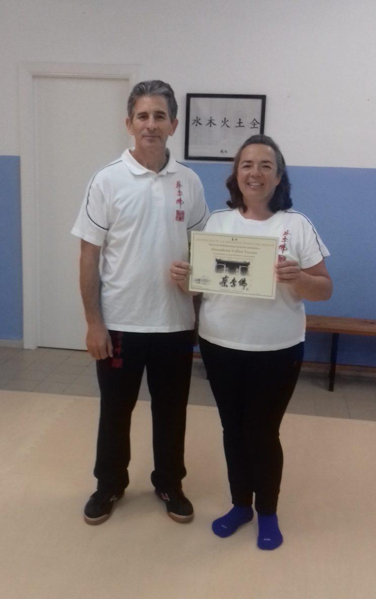 Entrega Diploma Monitor Chi Kung