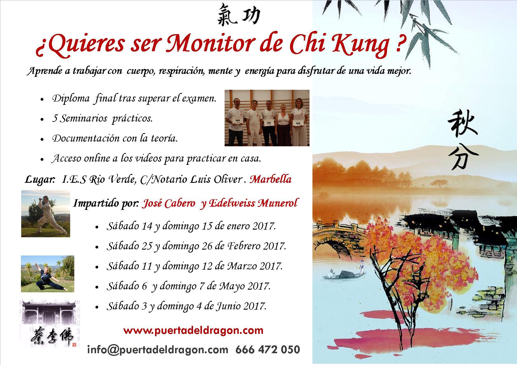curso Marbella monitor 2017