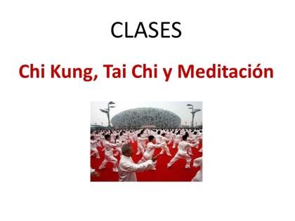 Clases Chi Kung Tai Chi
